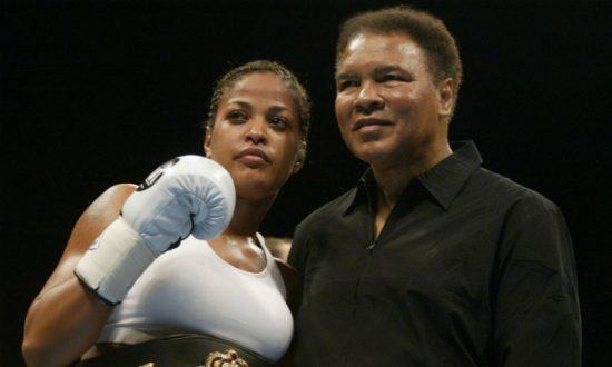 Laila ali daughter boxing
