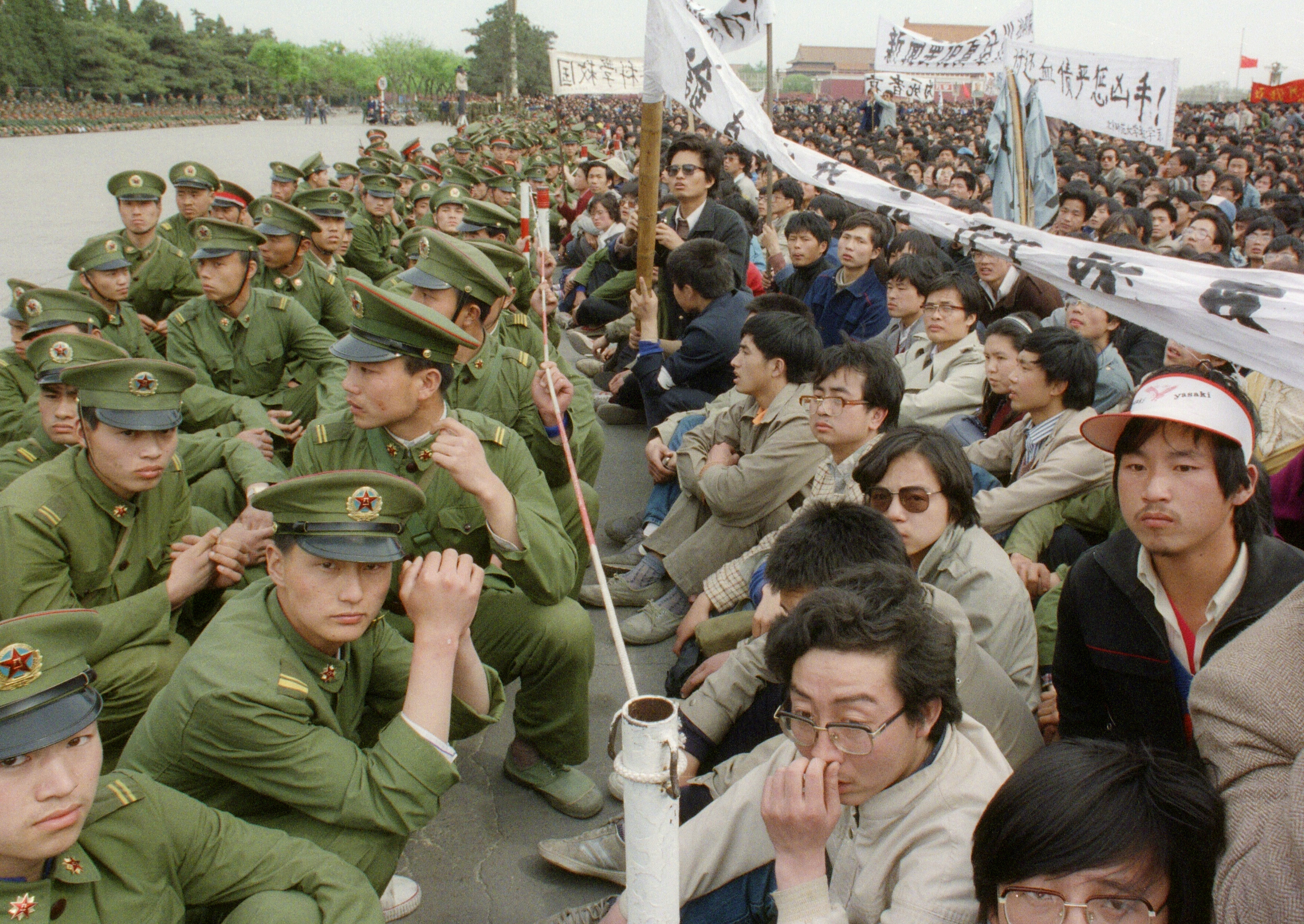 The Clash of 'Party Character' and Human Nature at Tiananmen