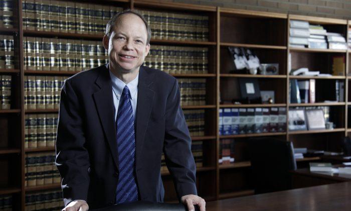 Santa Clara County Superior Court Judge Aaron Persky on June 27, 2011. (Jason Doiy/The Recorder via AP)