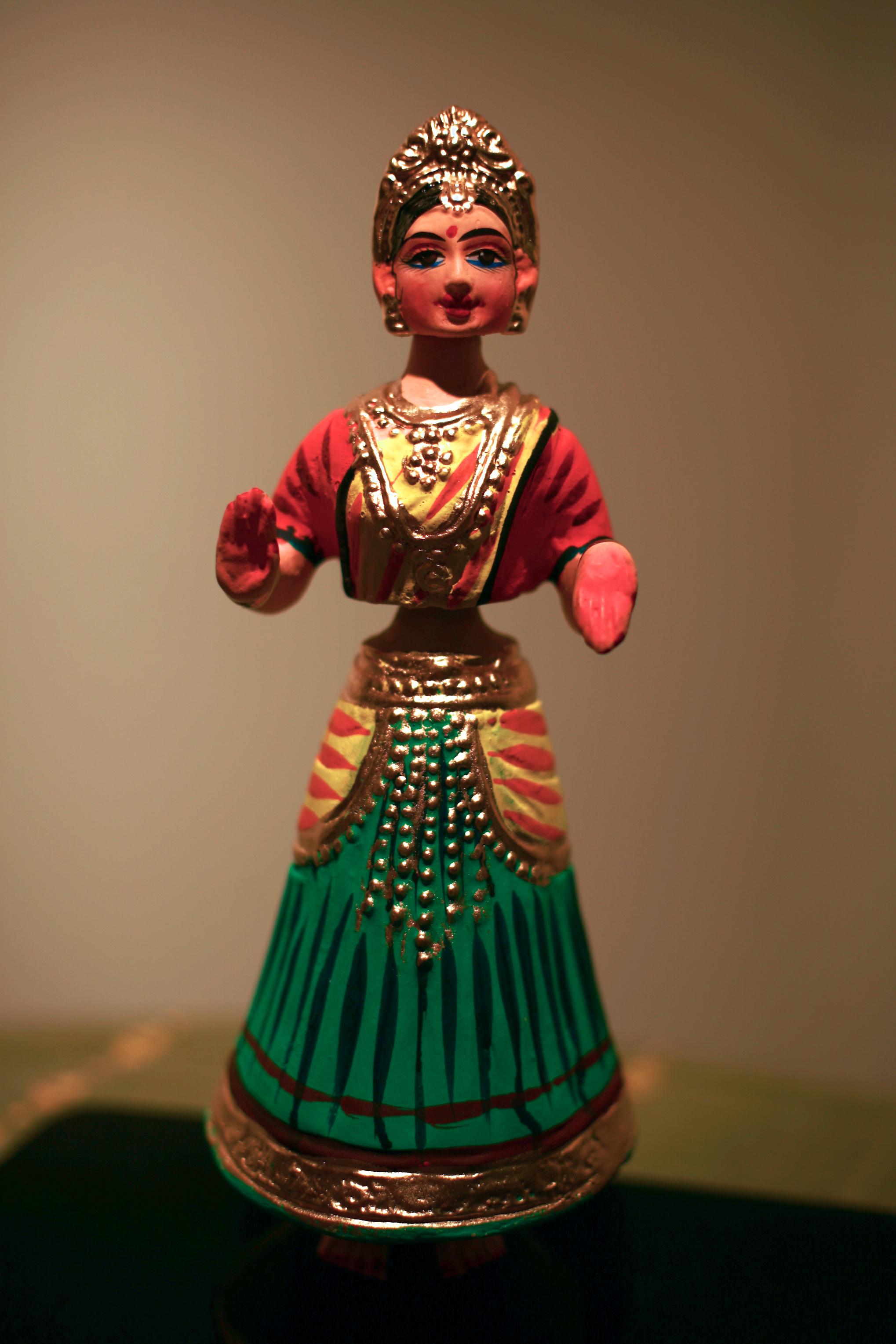 A Tanjavur doll. (Alamelu Sankaranarayanan/CC BY-SA)