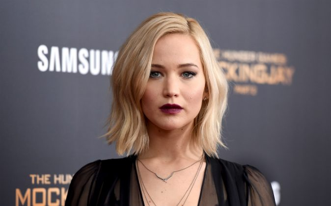 Jennifer Lawrence attends 'The Hunger Games: Mockingjay- Part 2' New York Premiere at AMC Loews Lincoln Square 13 theater on November 18, 2015 in New York City. (Jamie McCarthy/Getty Images)