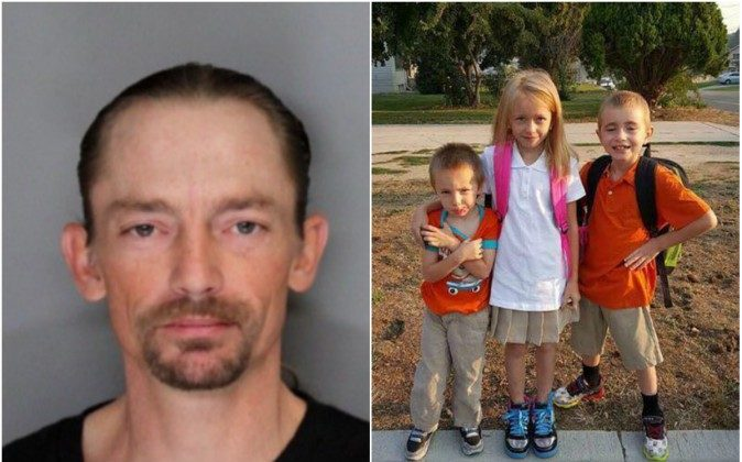 "Investigators with the Caldwell Police and Ada County Sheriff's Office continue to look for Jason ""Travis"" Simon, who has an active arrest warrant for a charge of sexually abusing a child. (Ada County Sheriff's Office photos)"
