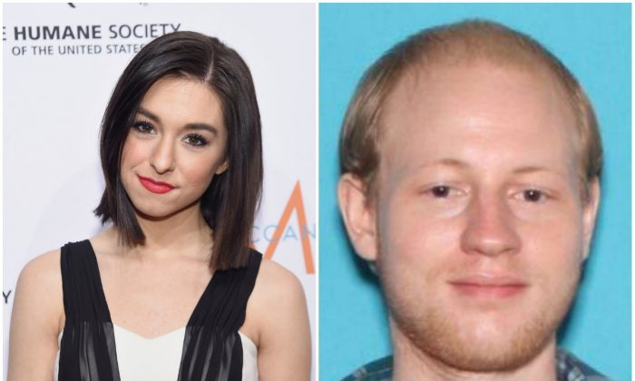 Left: Christina Grimmie attends the 2015 To The Rescue! New York Gala at Cipriani 42nd Street on Nov. 13, 2015, in New York. (Jamie McCarthy/Getty Images); Right: Kevin James Loibl, who shot Grimmie after a concert at The Plaza Live Friday night, June 10, 2016, in Orlando, Fla. (Orlando Police Department)