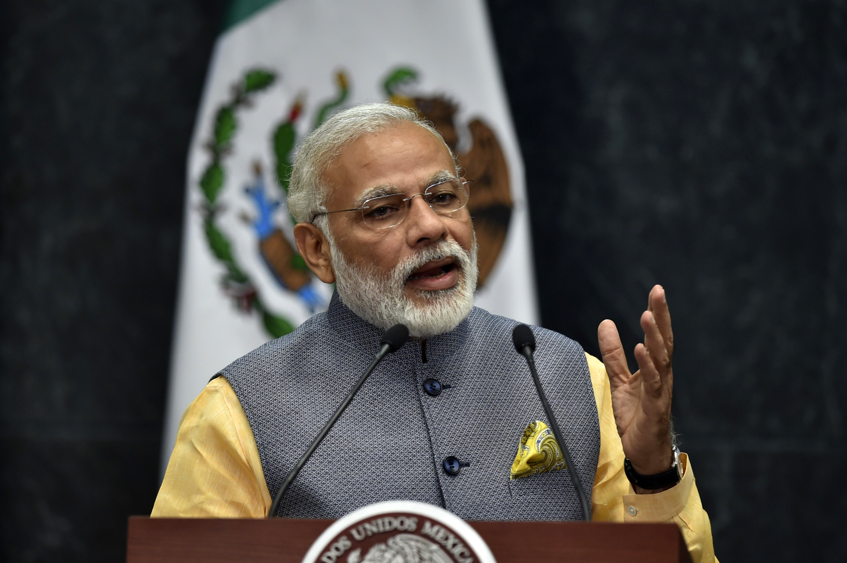 India's Modi Will Discuss Terrorism With Israel