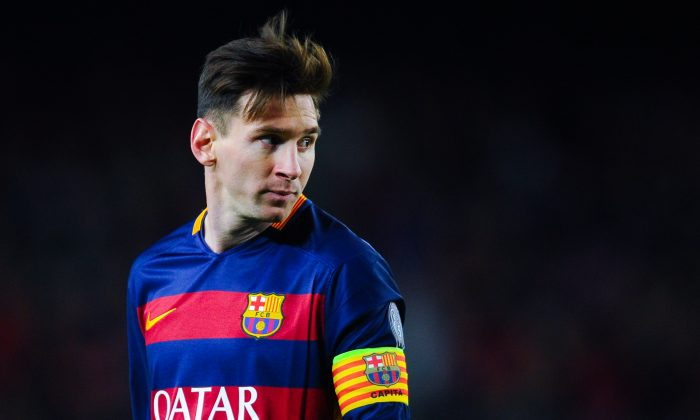 Is Lionel Messi right up there with Diego Maradona and Pele as one of the best to ever play? Not everyone thinks so. (David Ramos/Getty Images)
