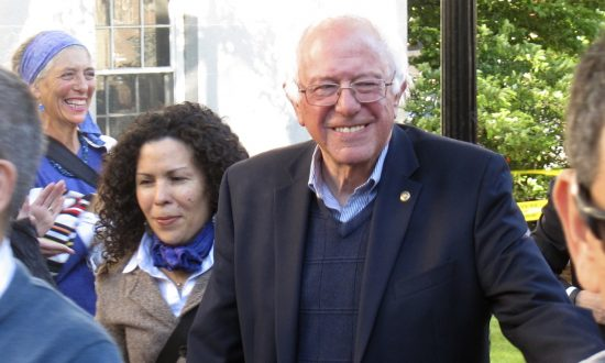 What About Bernie? Still Running and Keeping Security Detail