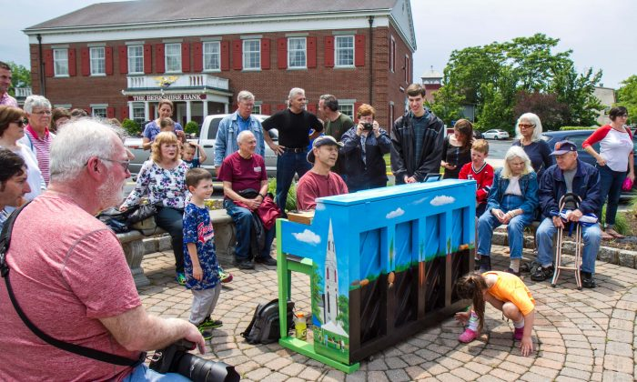 The Keys of Goshen project comes to fruition in the Village of Goshen, N.Y., on June 11, 2016. (Kati Vereshaka/Epoch Times)