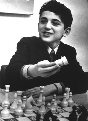 Kasparov Age 11, Vilnius, 1974. (S.M.S.I., Inc. - Owen Williams, The Kasparov Agency 2007/CC BY-SA).