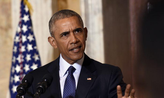 President Barack Obama speaks at the Treasury Department in Washington, D.C., on June 14, 2016. (AP Photo/Susan Walsh)