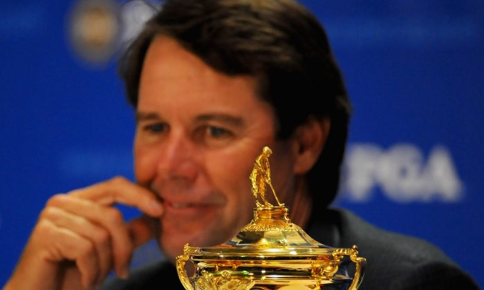 Paul Azinger was the USA's Ryder Cup captain in 2008, when the Americans won 16.5 to 11.5. (Sam Greenwood/Getty Images)