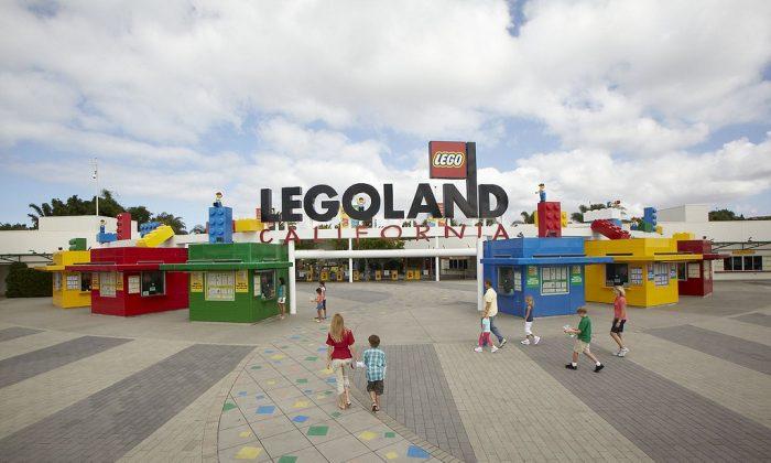 Entrance to Legoland California. (courtesy Legoland California)