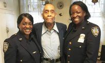 NYPD Officers 'Adopt' WWII Veteran, Give Him Heartfelt Send Off