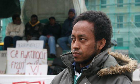 Desperate Sudan Refugees Hunger Strike in Sweden