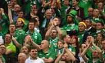 Paris to Lavish Highest Honor on Ireland's Fans for Sportsmanship at Euro 2016