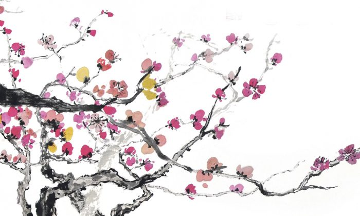 Painting by Sun Mingguo/Epoch Times.