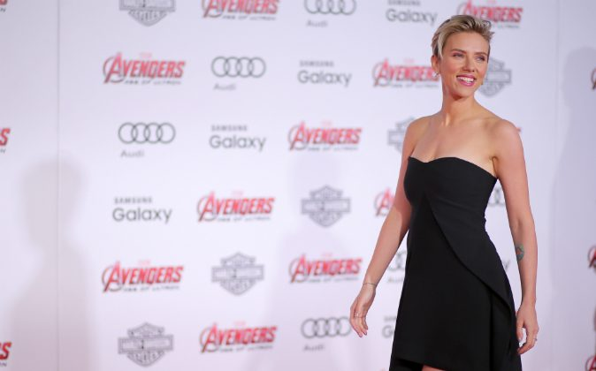 Actress Scarlett Johansson attends the premiere of Marvel's 'Avengers: Age Of Ultron' at Dolby Theatre on April 13, 2015 in Hollywood, California. (Mark Davis/Getty Images)