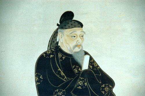 A depiction of Kibi no Makibi. (Public Domain)