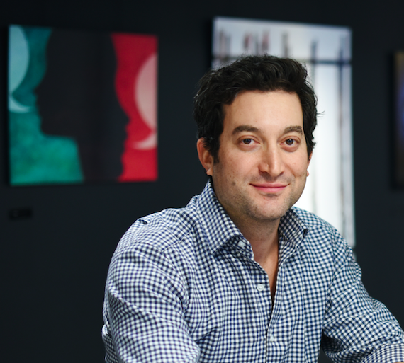 Jon Oringer, founder and CEO of Shutterstock. (Courtesy of Shutterstock)