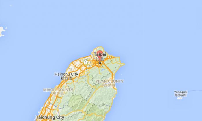 A train explosion injured 21 people in Taipei, Taiwan (Google Maps)