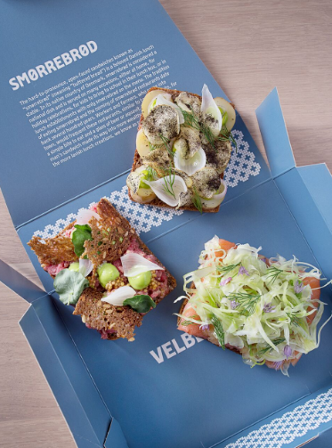 Smorrebrod, Danish open-faced sandwiches. (Signe Birck)