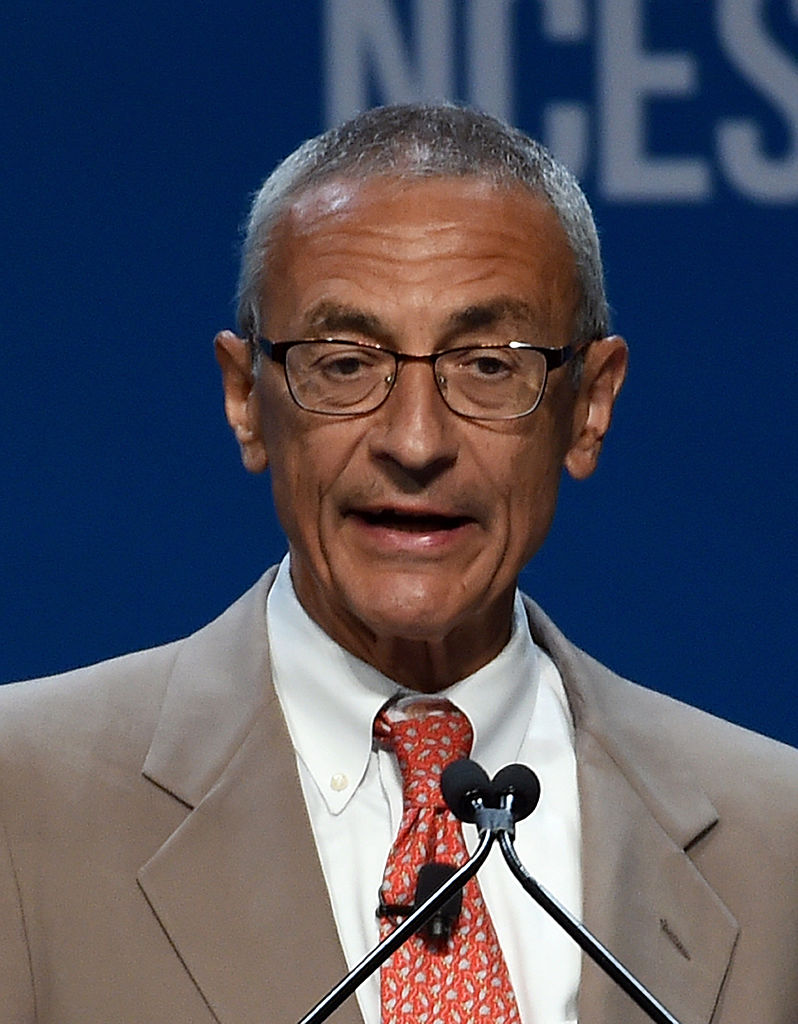 John Podesta, Former counselor to President Barack Obama and current campaign manager for Hillary Clinton. (Ethan Miller/Getty Images)