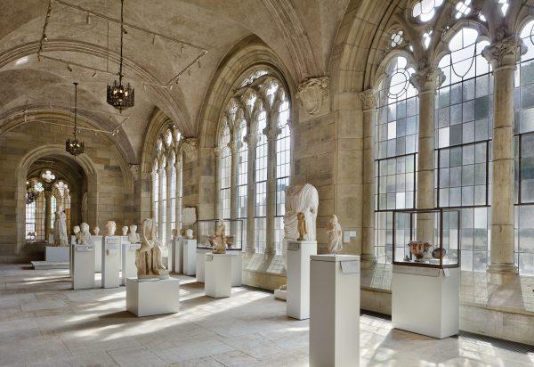 The ancient art exhibit inside Yale University Art Gallery. (Courtesy of Yale University Art Gallery)