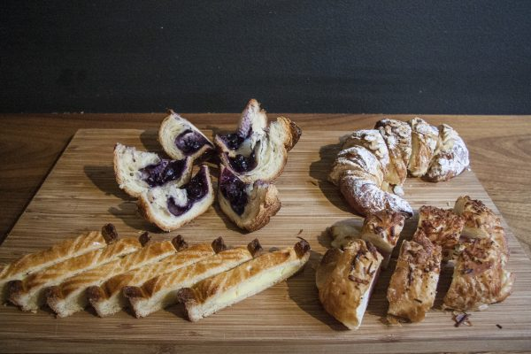 German-style pastries at G Cafe Bakery. (Annie Wu/Epoch Times)