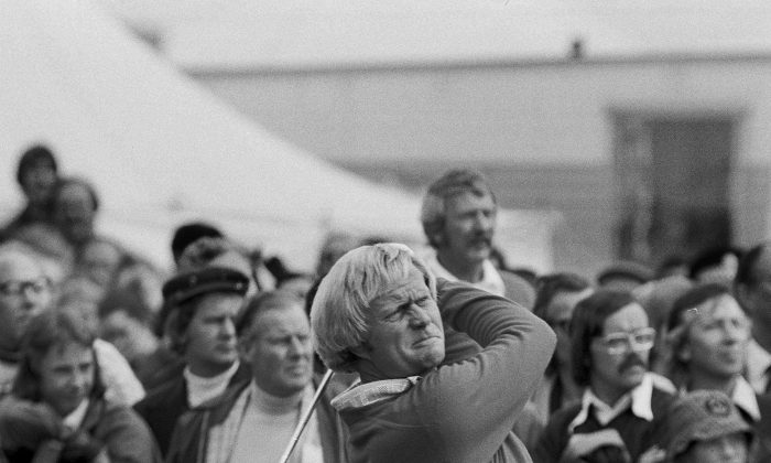 Golfing great Jack Nicklaus won 18 majors and finished second 19 other times. (AP Photo)