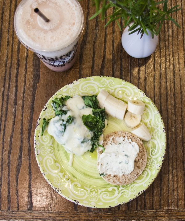 Claire's Corner Copia serves healthy, satisfying vegetarian fare like this Seasonal Goodness sandwich. (Annie Wu/Epoch Times)