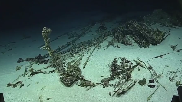 NOAA's Deep Water Mission Spots B-29 Bomber Wreckage From WWII (Video)