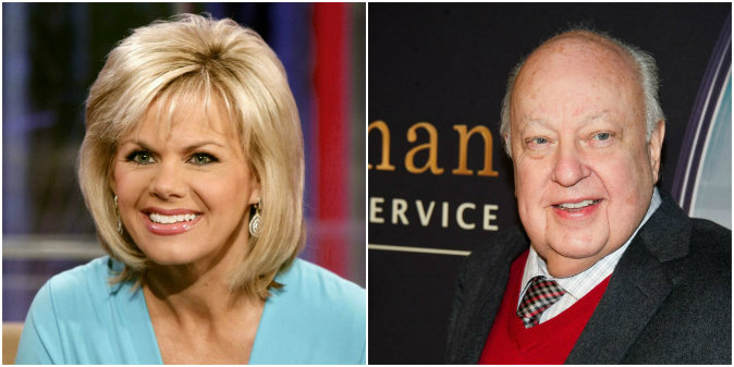 Gretchen Carlson and Roger Ailes (AP Photo/Richard Drew, File - Charles Sykes/Invision/AP, File)