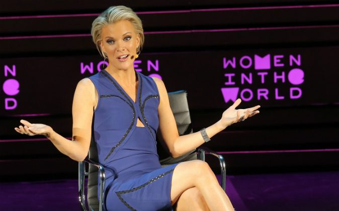 Megyn Kelly speaks onstage at Tina Brown's 7th Annual Women In The World Summit Opening Night at David H. Koch Theater at Lincoln Center on April 6, 2016 in New York City. (Jemal Countess/Getty Images)
