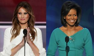 Melania Trump and Michelle Obama's Similar Speeches a Coincidence?