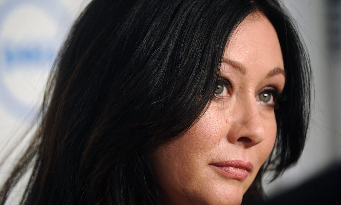Actress Shannen Doherty attends 18th Annual Webby Awards on May 19, 2014 in New York, United States.  (Brad Barket/Getty Images)