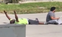 Black Man Shot by Police While Lying on Ground With Hands Up, Reports Say