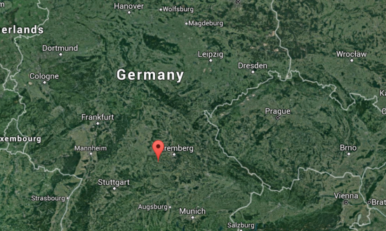 Katterbach Germany Map.Explosion Reported At Restaurant In Ansbach Germany