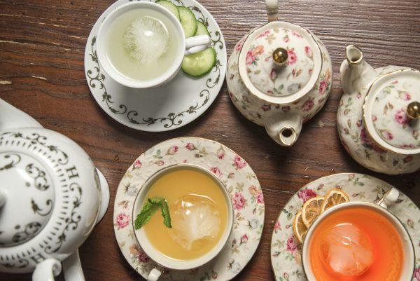 Booze-infused Tipsy Teapots. (Blaze Nowara)