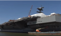 US Navy's Costliest Aircraft Carrier Ever Still Not Ready For Combat
