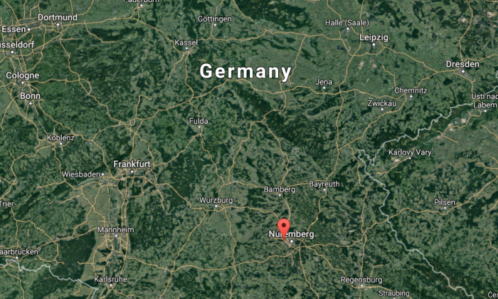 A large explosion was reported at migration office in Zirndorf, Germany, on Wednesday, according to German media reports. (Google Maps)