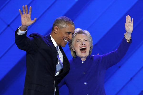 Obama passes baton to Clinton, imploring nation to elect her