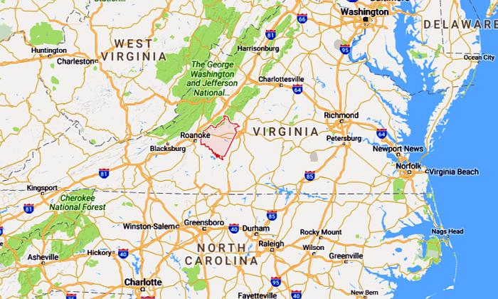 Bedford County, Virginia (Google Maps)