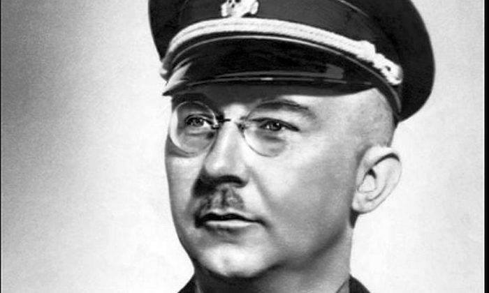 Official portrait of Heinrich Himmler (German Federal Archives)