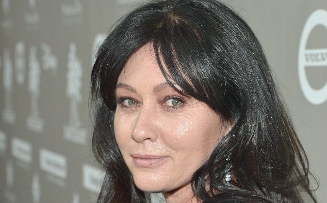 Actress Shannen Doherty at the 2015 Baby2Baby Gala in Culver City, California on Nov. 14, 2015. Doherty revealed on Aug. 1 that her breast cancer has spread.  (Charley Gallay/Getty Images for Baby2Baby)