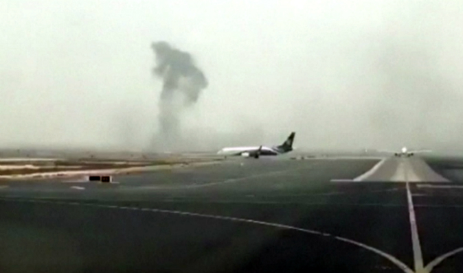Video Footage Shows Passengers Escaping Emirates Plane After Crash-Landing