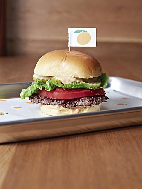 The Impossible Burger at Momofuku Nishi. (Courtesy of Impossible Foods)