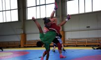 Mongolian Wrestling Women Grapple With Tradition