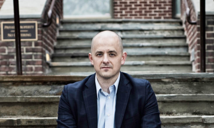 Evan McMullin is making a third party run. Screen grab by Epoch Times.