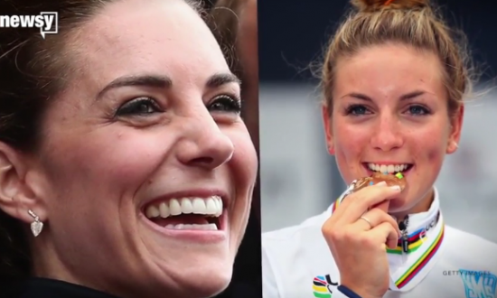It's an Honor for Kate Middleton to Look Like this Olympian (Video)