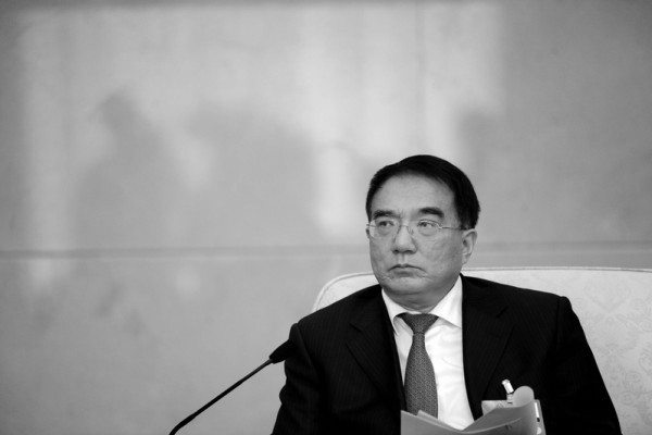 Former Liaoning Province Party Secretary Wang Min. (zzwave.com)