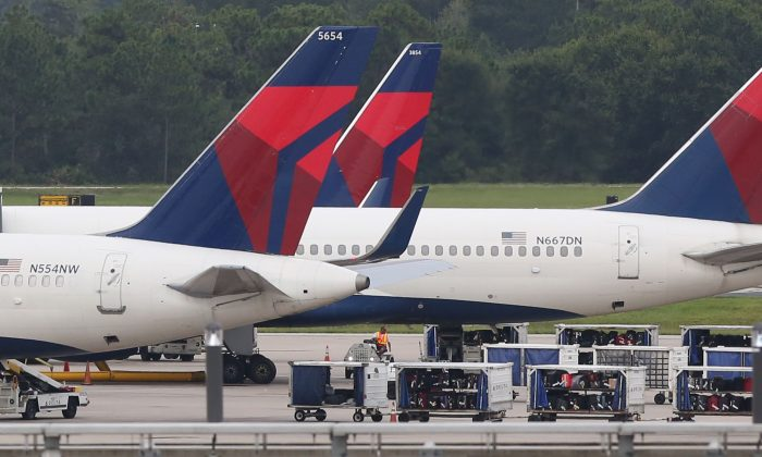 Delta flight delayed after bird flies into cockpit